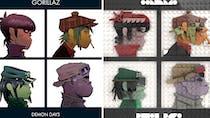 LEGO : Il recrée des pochettes d'albums avec les petites briques