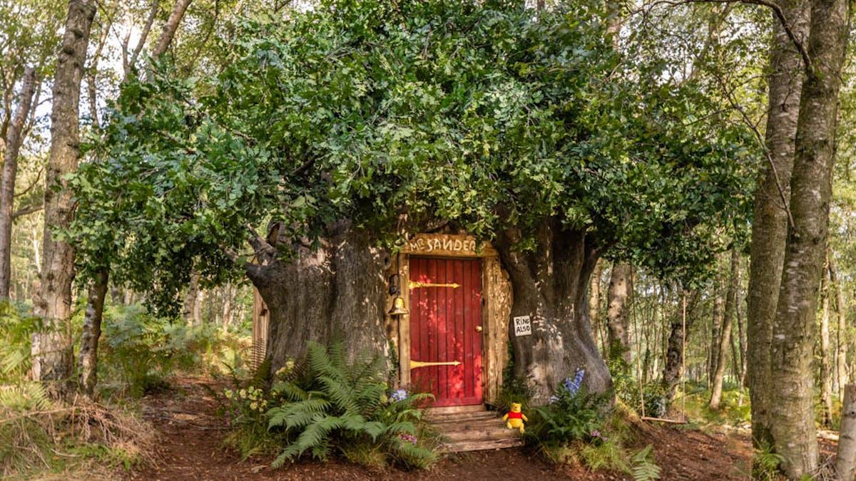 maison Winnie l'Ourson Airbnb Disney 95 ans