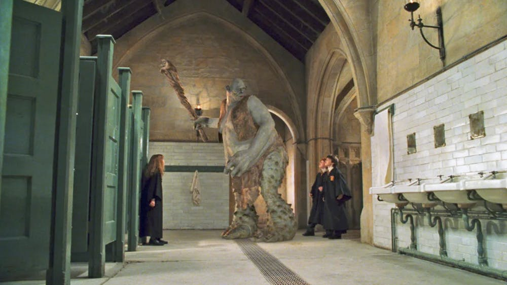Harry Potter Halloween Troll