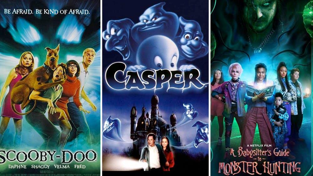 Netflix films familiaux Halloween