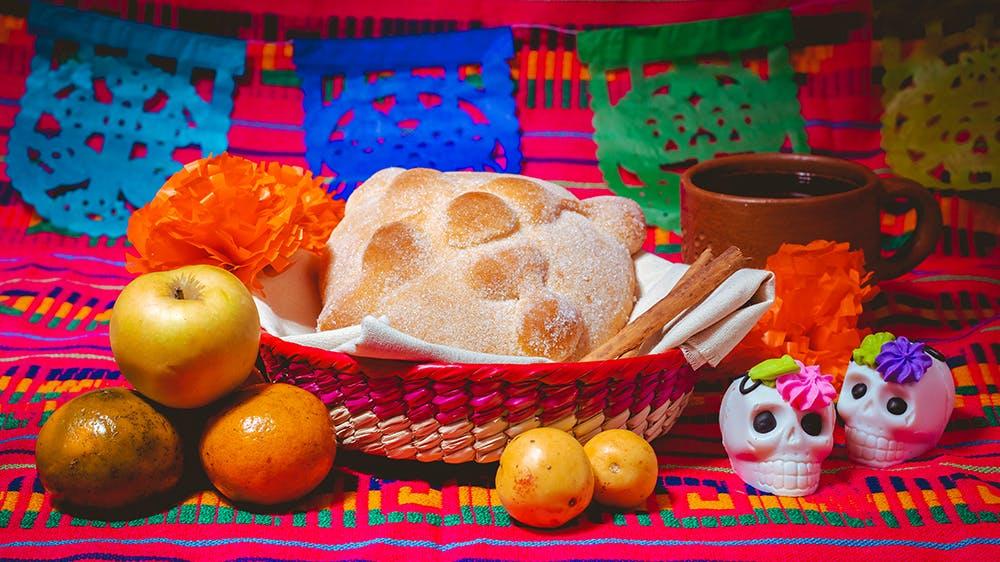 offrandes El dia de los muertos La Fête des morts