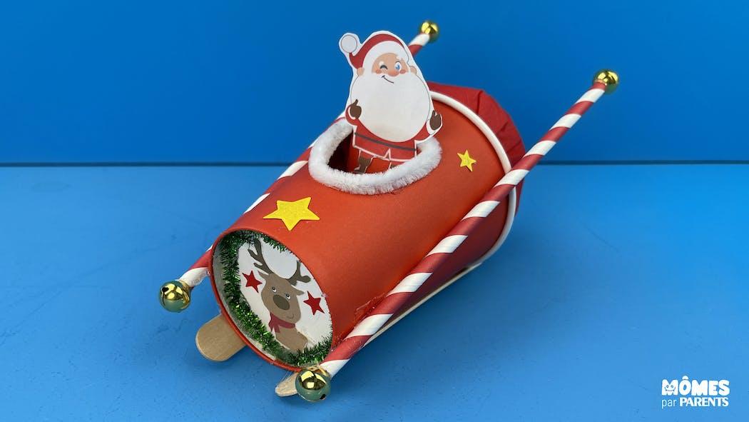 DIY Traineau du Père Noël