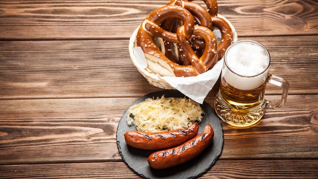 La gastronomie allemande