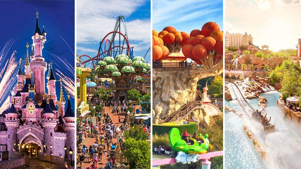 Les meilleurs parcs d'attractions d'Europe à faire avec les enfants
