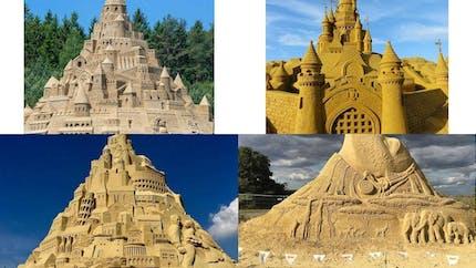 Top 20 des châteaux de sable les plus impressionnants