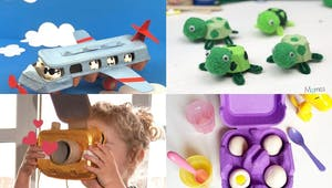 20 idées de bricolages sympas avec des boîtes d'œufs
