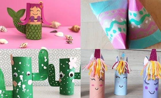 25 idées de bricolages avec des rouleaux de papier WC