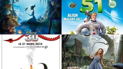 Les films pour enfant en 2010