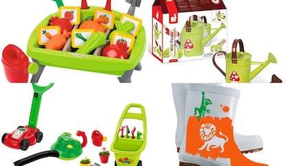 Shopping jardinage enfant