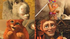 Les personnages de Shrek 4