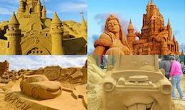 Les sculptures de sable les plus impressionnantes !