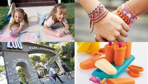 50 idées d'activités pour les enfants pendant les vacances