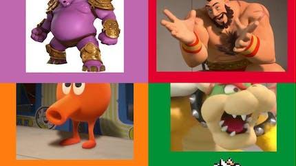 """Les personnages de jeux vidéo dans """"Les Mondes de Ralph"""""""