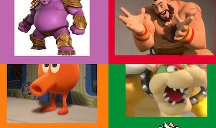 Les personnages de jeux vidéo dans