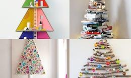 Des sapins de Noël créatifs !