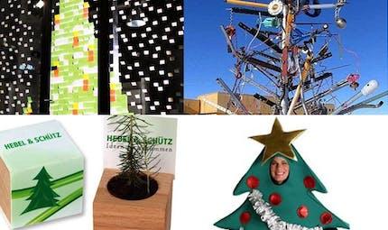 Top 10 des sapins les plus originaux pour Noël