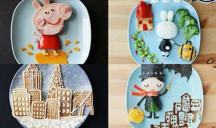 Les super créations culinaires d'une maman pour ses 2 enfants