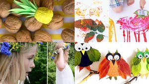 35 bricolages nature pour les enfants