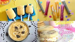 35 recettes de glaces maison que les enfants adorent !