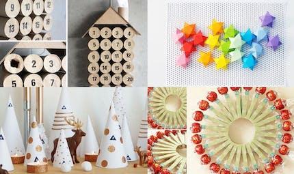 20 calendriers de l'Avent à fabriquer avec les enfants