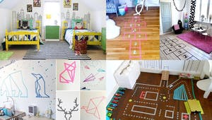 10 idées déco avec du Masking Tape pour la chambre des enfants