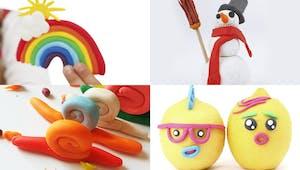 Pâte à modeler : 20 modèles faciles à faire pour les enfants