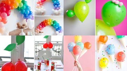16 idées déco avec des ballons !