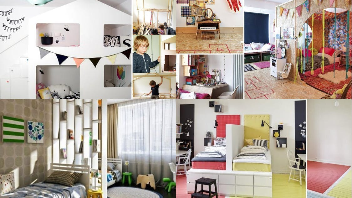 Une chambre pour deux enfants : 10 idées de séparations  MOMES.net