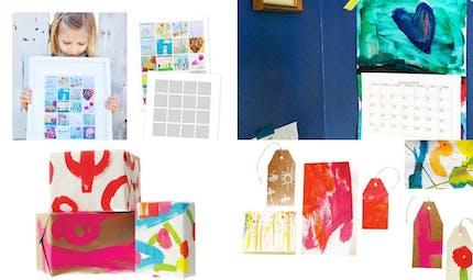 Des idées pour recycler les dessins des enfants !