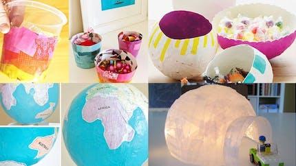 Des idées de bricolages en papier maché pour les enfants