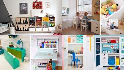 Petites et grandes astuces de rangement pour chambre d'enfant