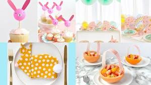 14 idées de décorations de table de Pâques