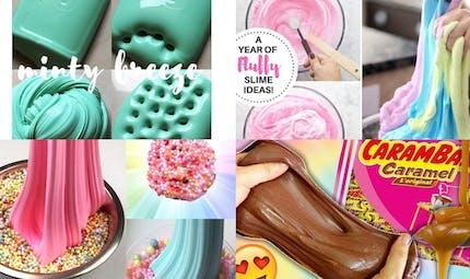 Slime : 20 idées les plus folles !