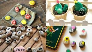 15 idées pour customiser des galets
