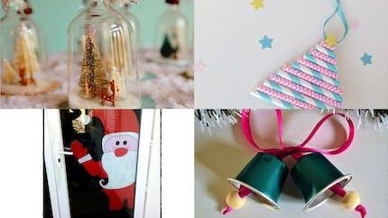 20 brico à faire avec les enfants pour un Noël artisanal