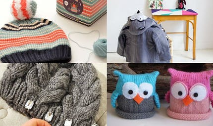 DIY: Customisez bonnet, écharpe et manteau des enfants!