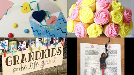 Fête des grands-mères: 15 cadeaux à faire avec les enfants