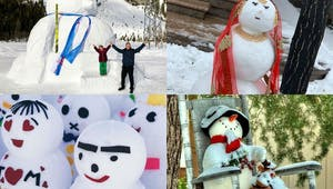 Les 10 plus beaux bonhommes de neige du monde