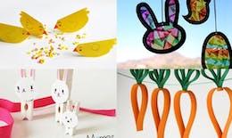 20 idées de bricolages de Pâques avec les enfants