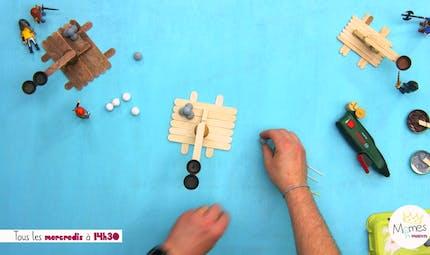 Vidéo - Replay - Mômes Part en Live - catapulte miniature