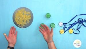 Vidéo - Replay - Mômes Part en Live - fabriquer une médaille