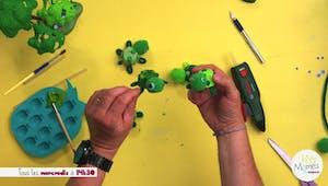 Vidéo - Replay - Mômes Part en Live - petites tortues avec boîte d'œufs