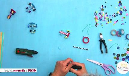 Vidéo - Replay - Mômes Part en Live - petites voitures à fabriquer en pinces à linge