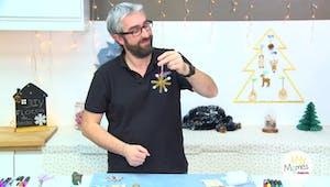 Vidéo - Replay - Mômes Part en Live - DIY petit flocon de neige en bâtonnets