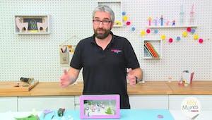 Vidéo - Replay - Mômes Part en Live - DIY diorama d'hiver