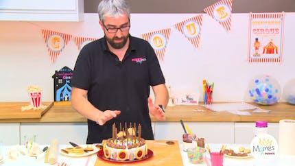 Vidéo - Replay - Mômes Part en Live - Gâteau cirque