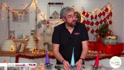 Vidéo - Replay - Mômes Part en Live - DIY petits lutins de Noël