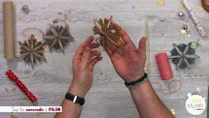 Vidéo - Replay - Mômes Part en Live - décoration de Noël en carton