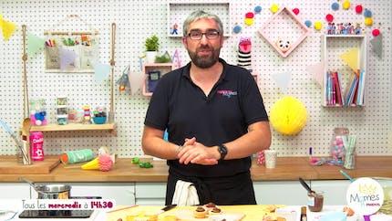 Vidéo - Replay - Mômes Part en Live - recette cupcakes cow-boy