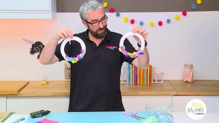 Vidéo - Replay - Mômes Part en Live - DIY couronne décorative